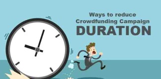 Ways to reduce Crowdfunding Campaign Duration