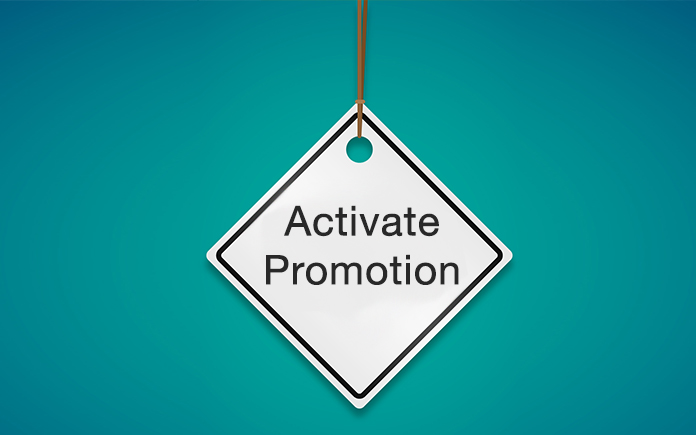 Activate Promotion