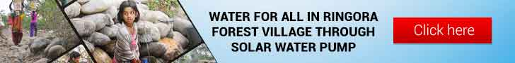 WATER FOR ALL IN RINGORA FOREST VILLAGE THROUGH SOLAR WATER PUMP.