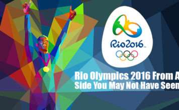 Rio Olympics 2016 From A Side You May Not Have Seen!